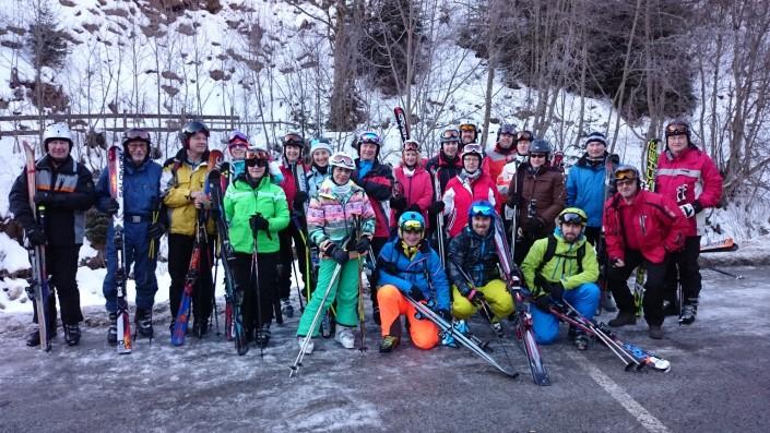 Die Alpinskifahrer